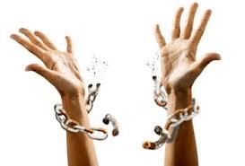 woman break free