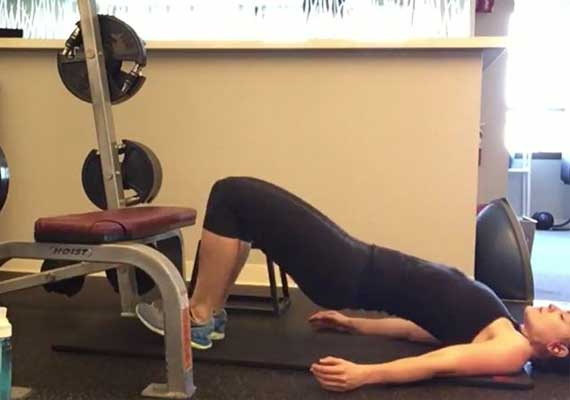 Hip Bridge Glute Progression