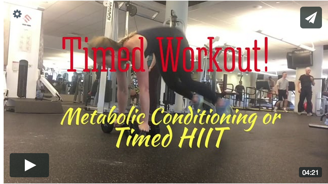 Timed Workout! Full Body Metabolic HIIT