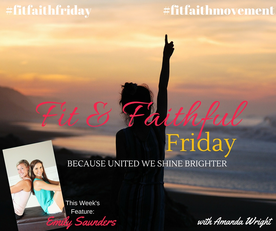 "{FitFaithFriday}  Joining the ""Momsanity"" with Emily Saunders!"
