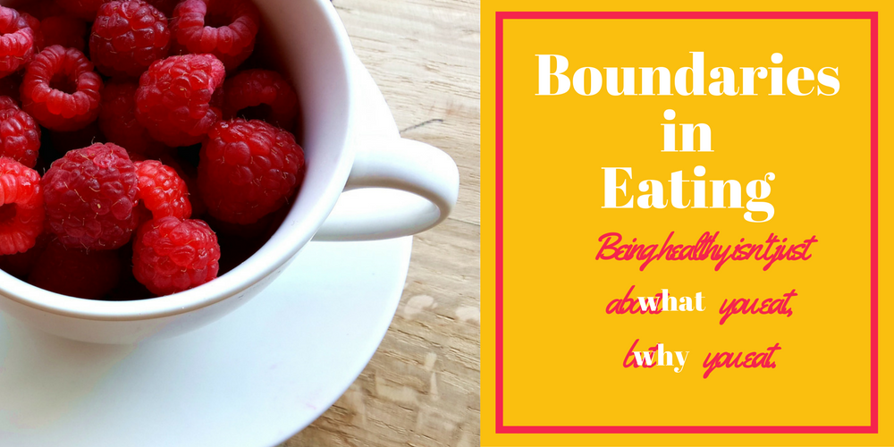 Boundaries in Eating:  Caring v Obsessing